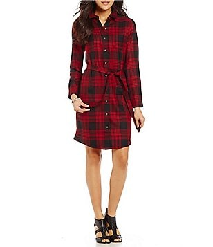 Pendleton Menzies Tartan Plaid Shirt Dress