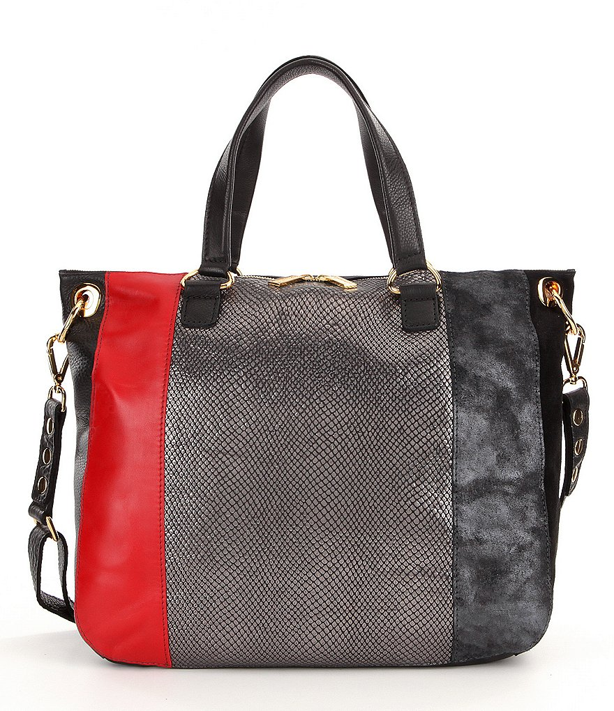 Hammitt Daniel Color Block Satchel