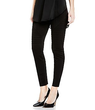 Two By Vince Camuto Ponte Moto Legging with Inserts