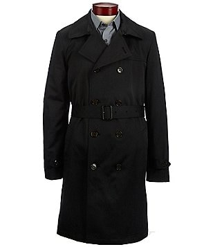 Ralph Ralph Lauren Double-Breasted Rain Coat