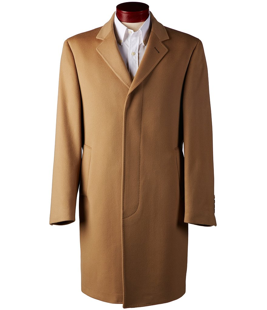 Ralph Ralph Lauren Single-Breasted Wool Top Coat