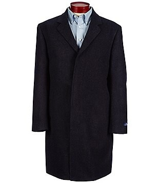 Ralph Ralph Lauren Single-Breasted Plaid Topcoat