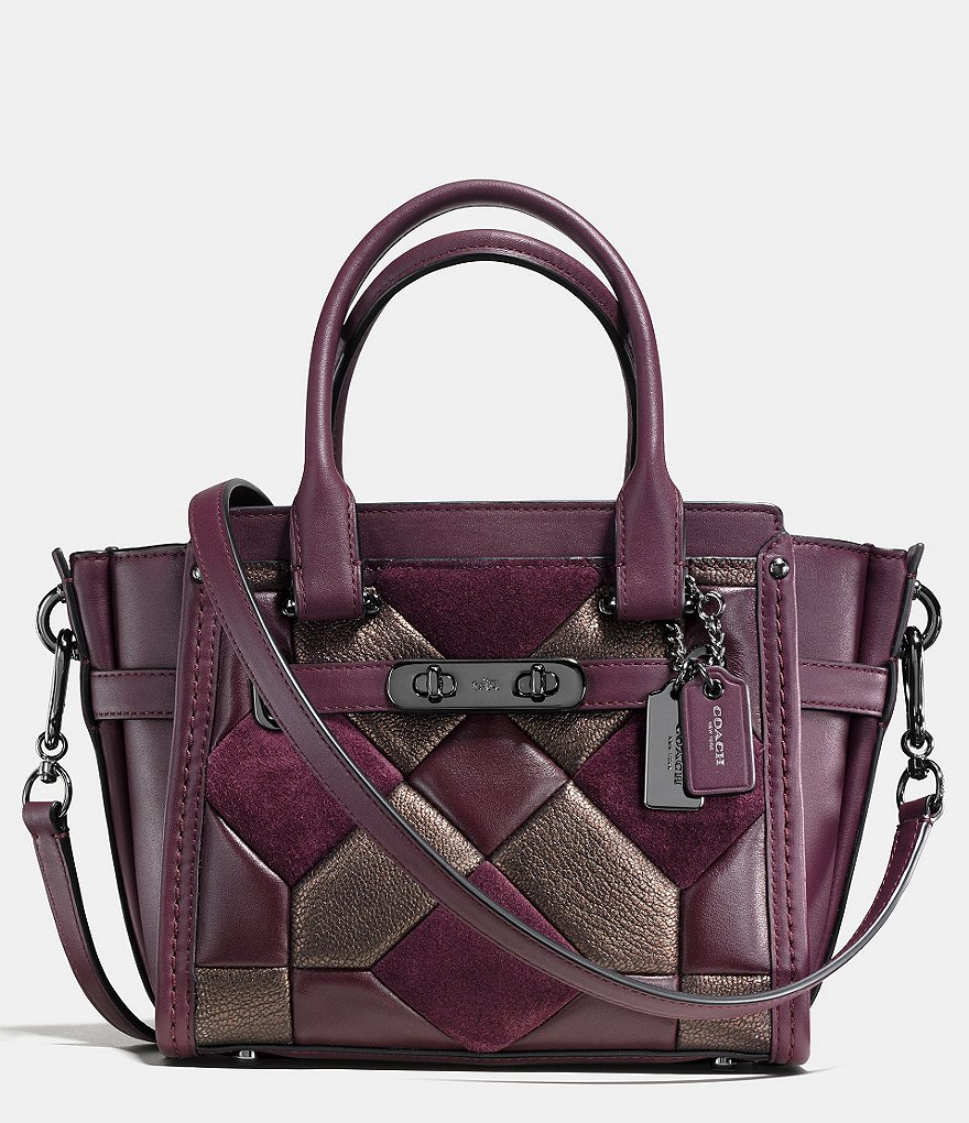 COACH CANYON QUILT SWAGGER 21 IN MIXED MATERIALS