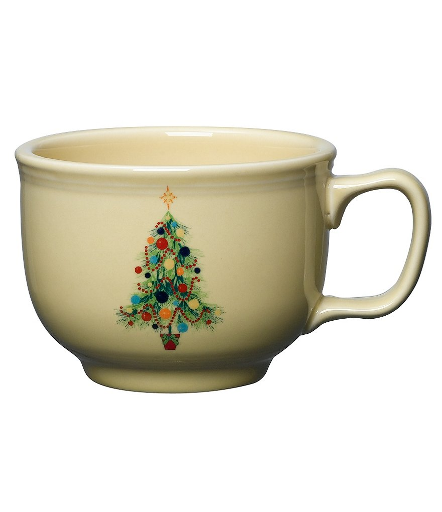 Fiesta Christmas Tree Accent Dinnerware Jumbo Cup