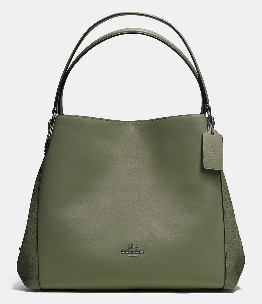 COACH EDIE SHOULDER BAG 31 IN MIXED MATERIALS