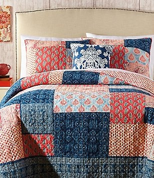 Jessica Simpson Grace Patchwork Cotton Quilt