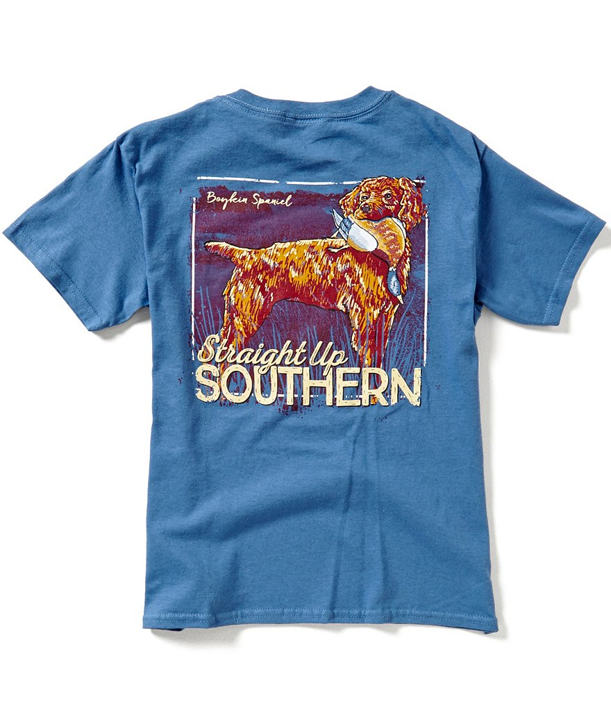Straight Up Southern Big Boys 8-20 Fresh From The Hunt Short-Sleeve Tee