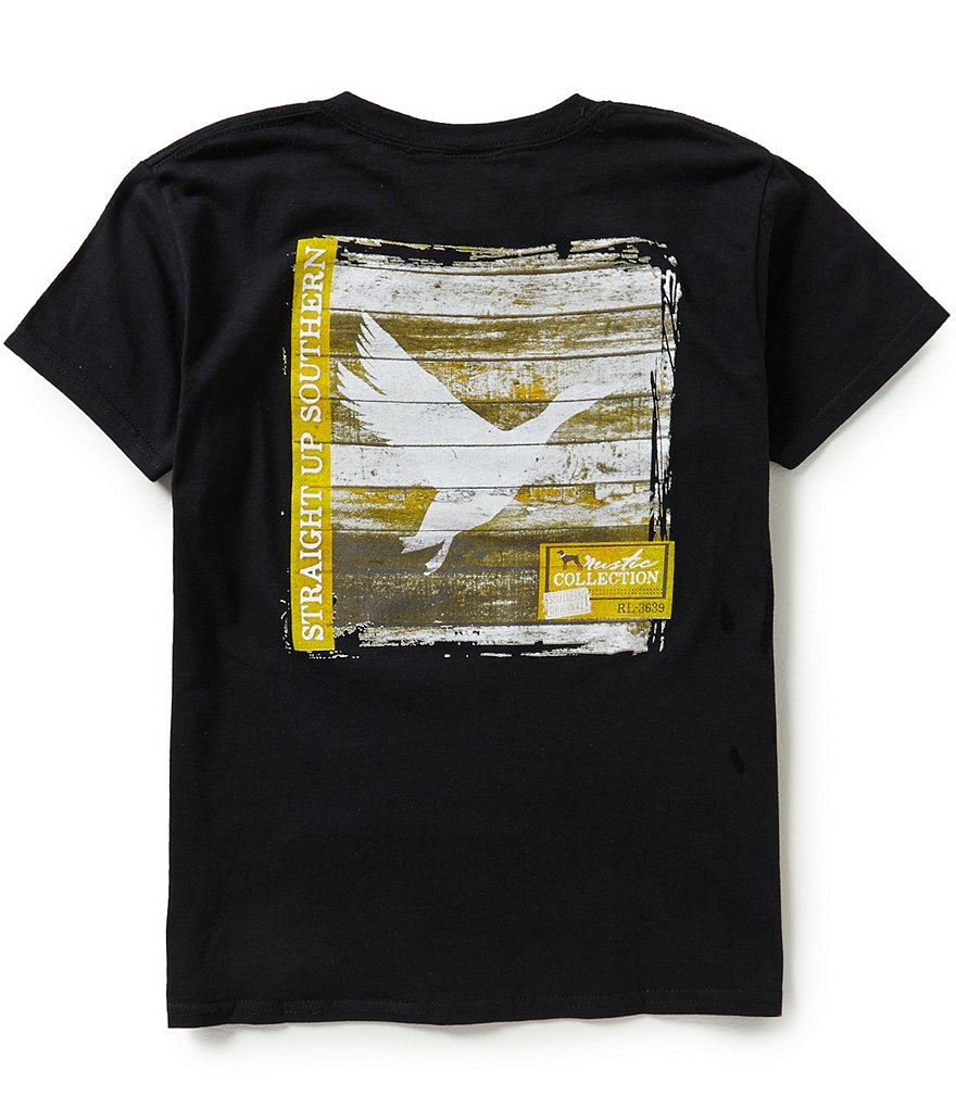 Straight Up Southern Big Boys 8-20 Flying Duck Graphic Tee