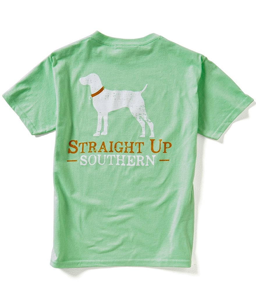 Straight Up Southern Big Boys 8-20 Classic Logo Short-Sleeve Graphic Tee