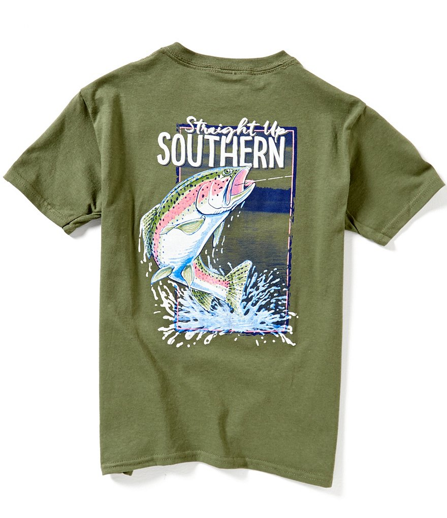 Straight Up Southern Big Boys 8-20 Catch Of The Day Short-Sleeve Graphic Tee