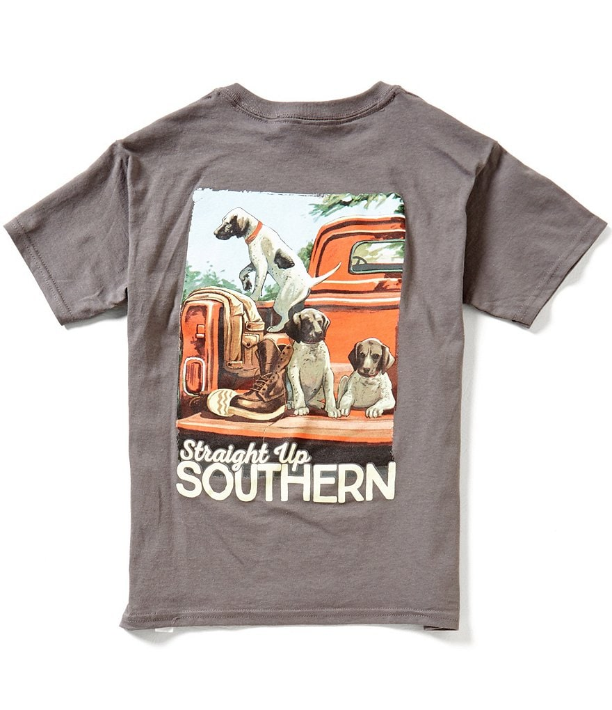 Straight Up Southern Big Boys 8-20 Pointer Party Short-Sleeve Graphic Tee