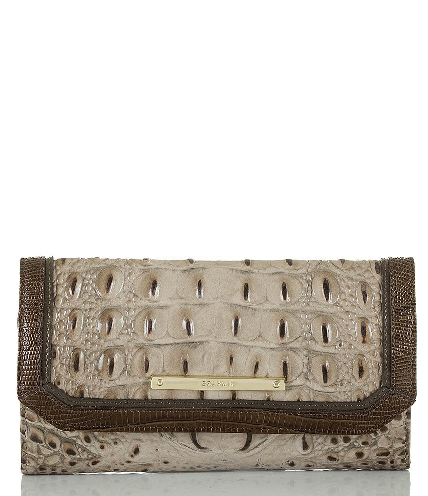 Brahmin Bronte Collection Soft Checkbook Wallet