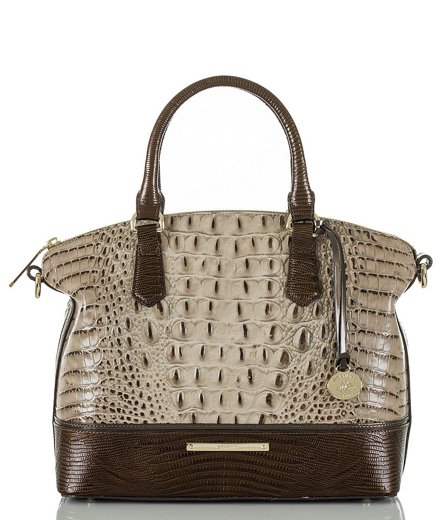 Brahmin Bronte Collection Duxbury Satchel