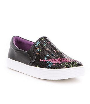 Kenneth Cole Reaction Kam Girl´s Splatter Print Slip-On Sneakers