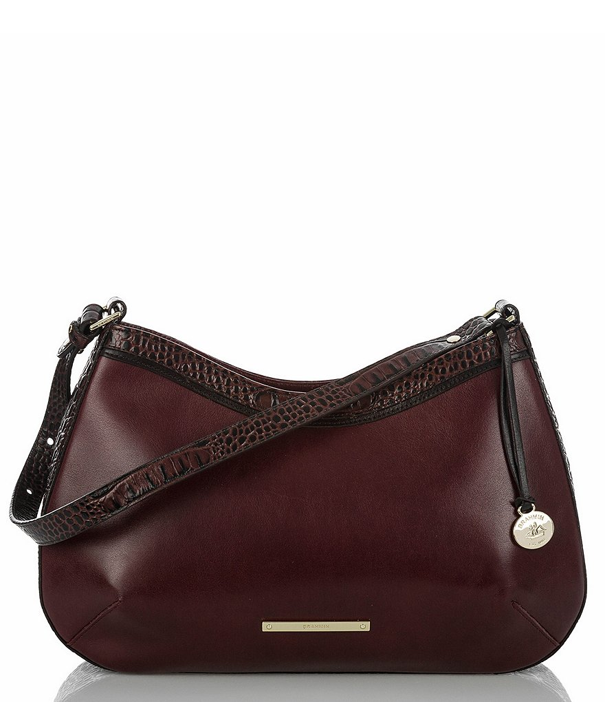 Brahmin Tuscan Tri-Texture Collection Cayson Shoulder Bag