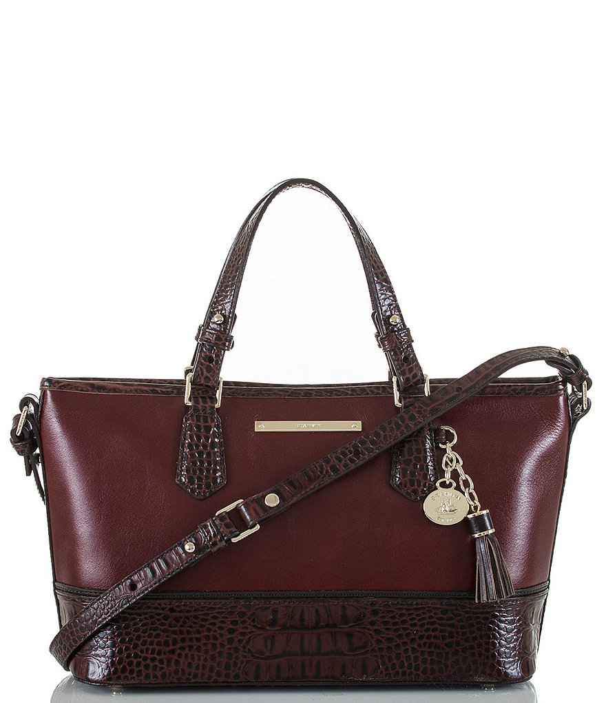 Brahmin Tuscan Tri-Texture Collection Mini Asher Tote