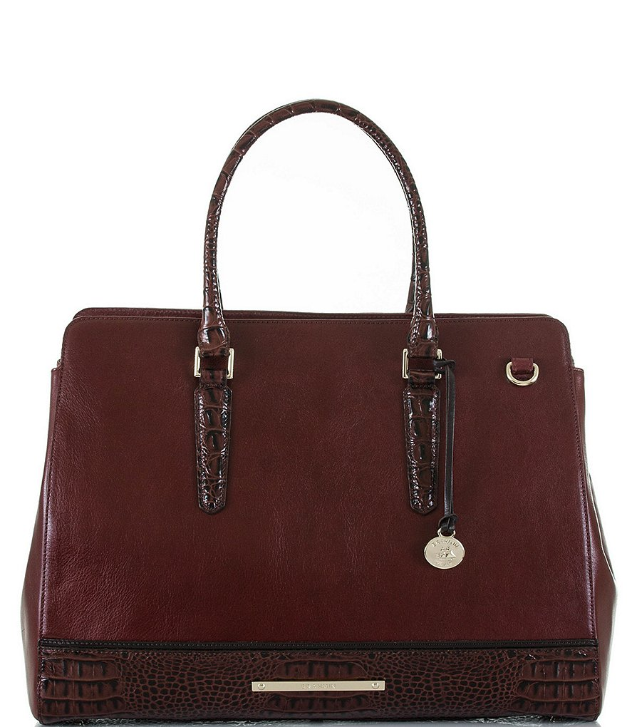 Brahmin Tuscan Tri-Texture Collection Finley Carryall