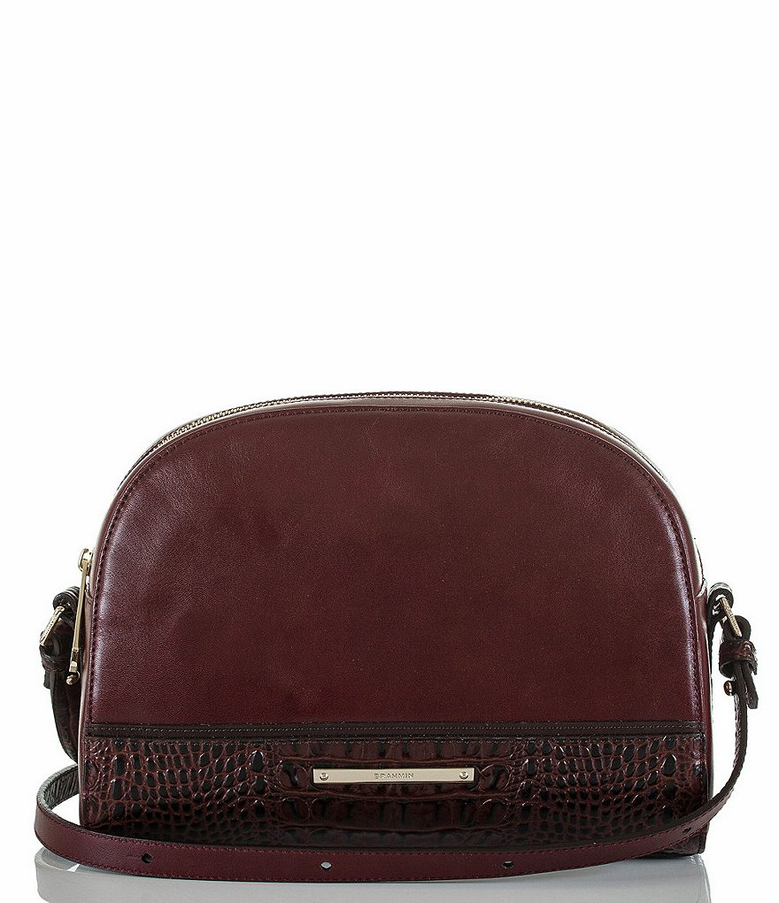 Brahmin Tuscan Tri-Texture Collection Abby Cross-Body Bag