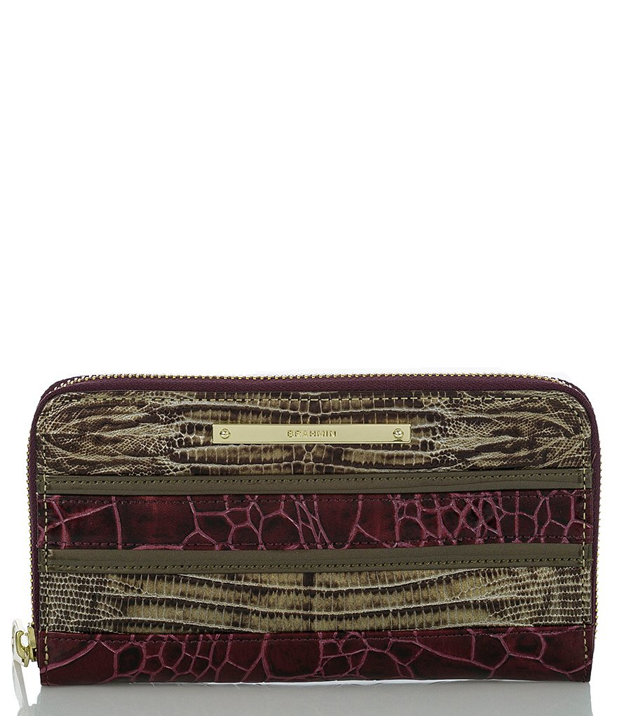 Brahmin Churchill Collection Suri Striped Wallet