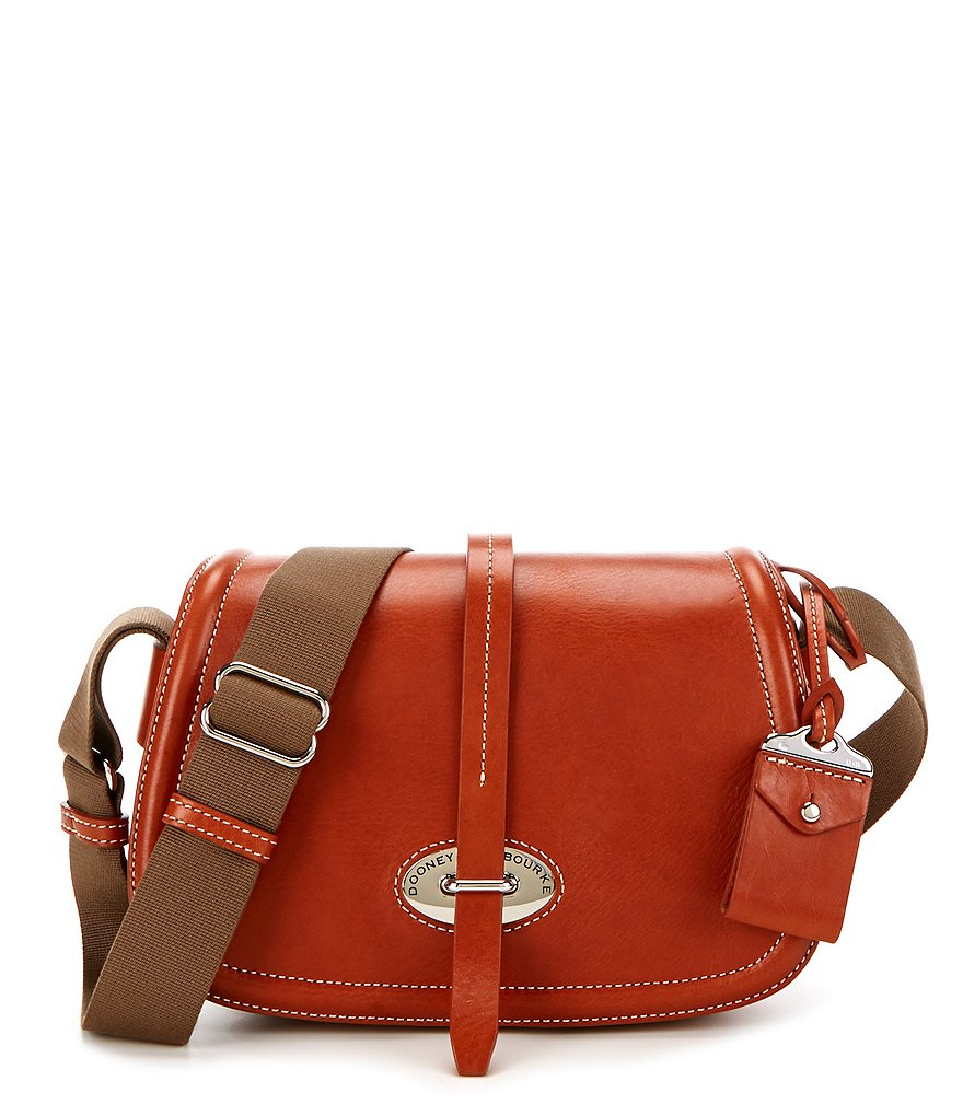 Dooney & Bourke Florentine Collection Small Saddle Bag