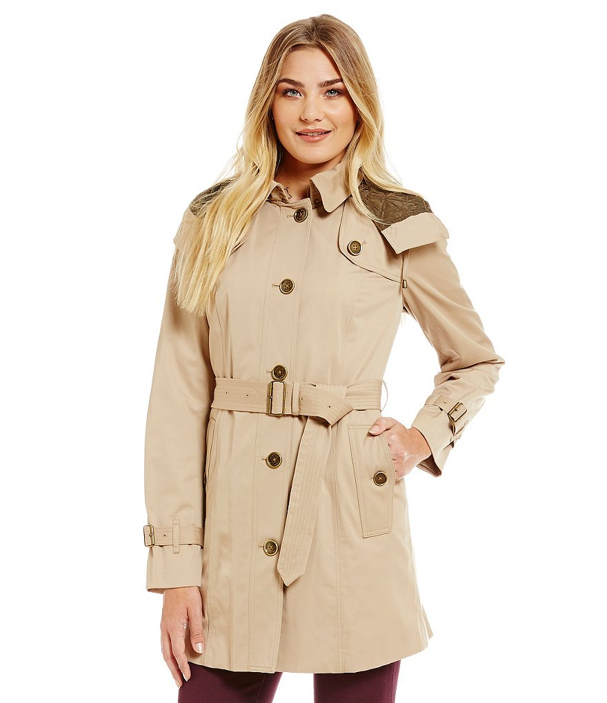 London Fog Heritage Single Breasted Trench Coat