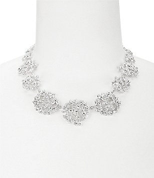 kate spade new york Crystal Ivy Cluster Necklace