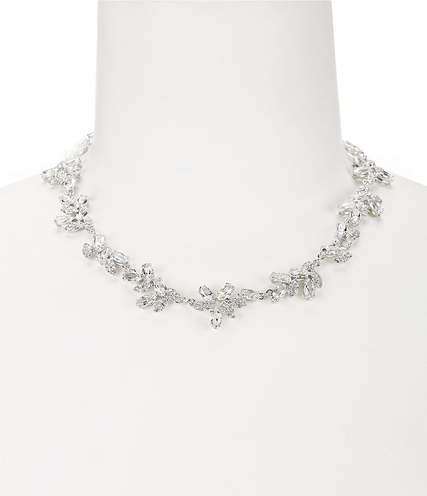 kate spade new york Crystal Ivy Collar Necklace