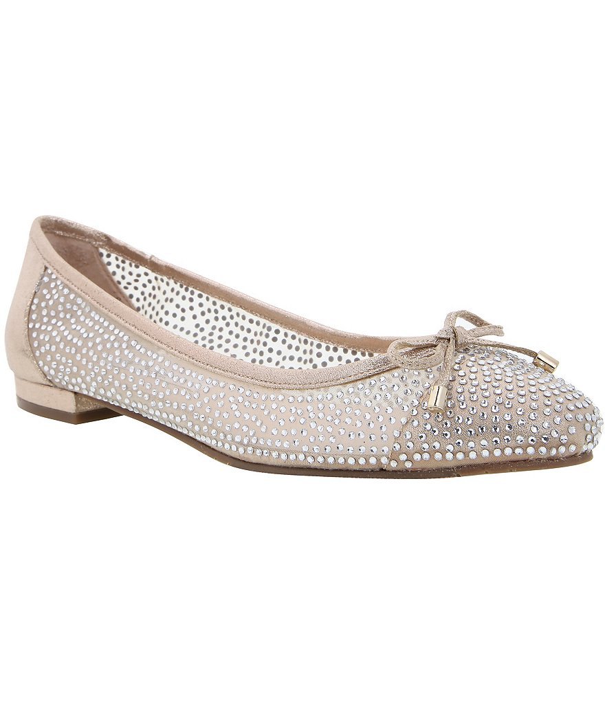 Nina Wynne Jeweled Ballet Flats