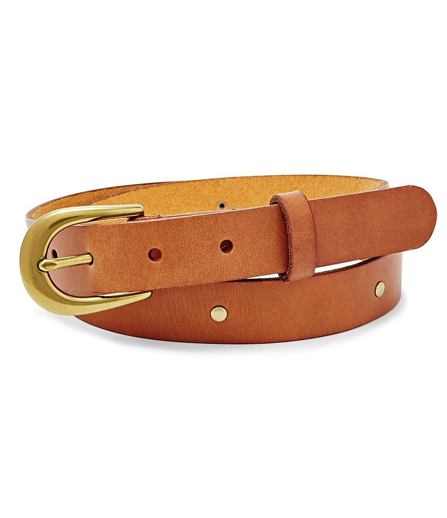 Fossil Emi Studded Leather Belt