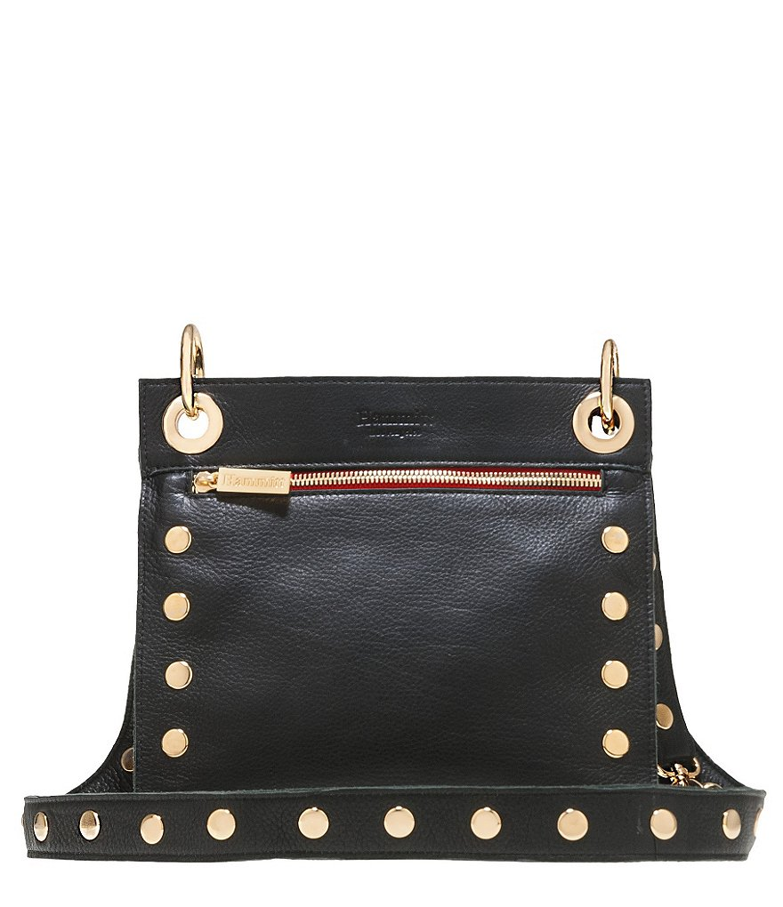 Hammitt Paul Cross-Body Bag with Contrast Zipper