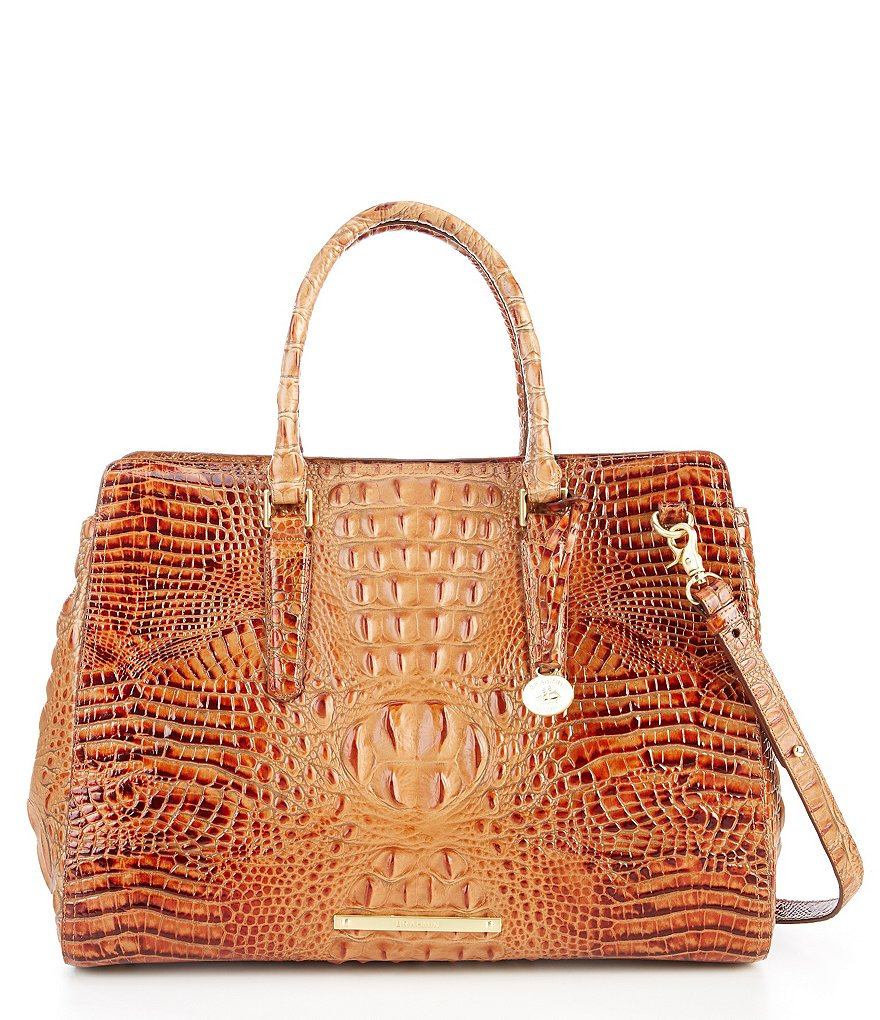 Brahmin Toasted Almond Collection Finley Carryall