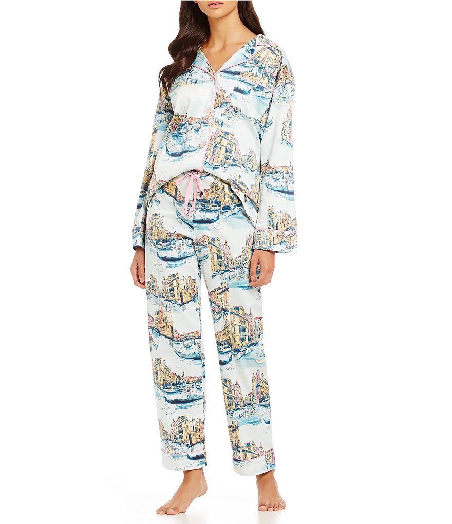 BedHead Classic Italy-Inspired Sateen Pajamas
