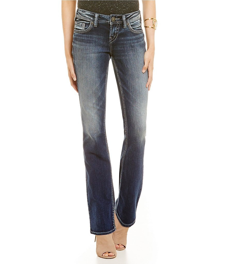 Silver Jeans Co Aiko Mid Bootcut Jean