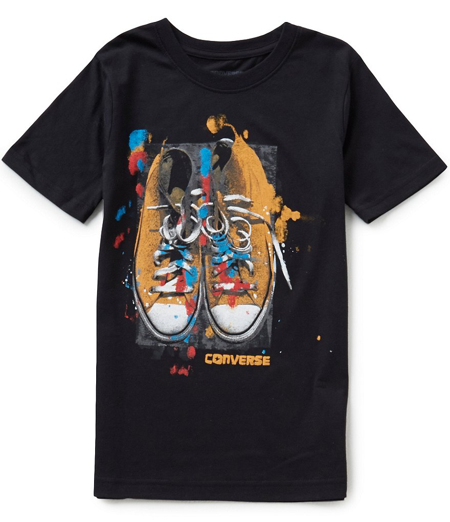 Converse Big Boys 8-20 Artistic License Short-Sleeve Graphic Tee