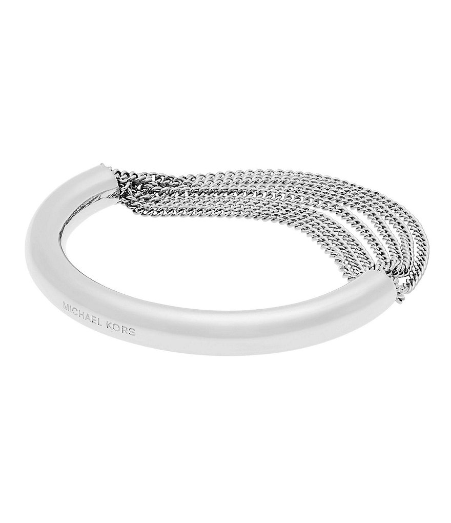 Michael Kors Draped Chain Bangle Bracelet