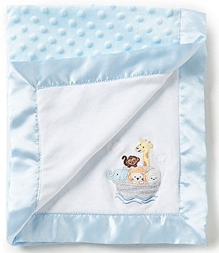 Starting Out Baby Boys Noah´s Ark Print Reversible Blanket