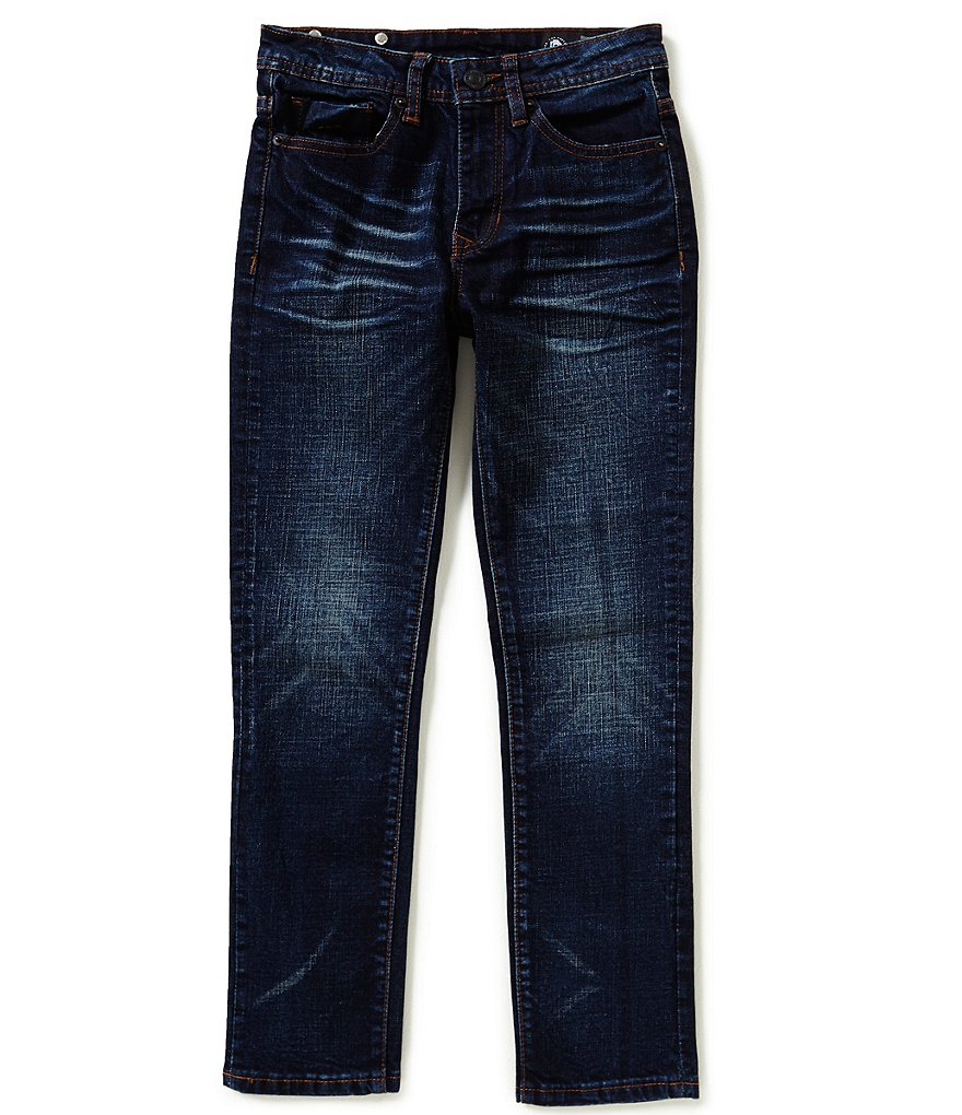 Buffalo David Bitton Big Boys 8-20 Ash-X Skinny Denim Jeans