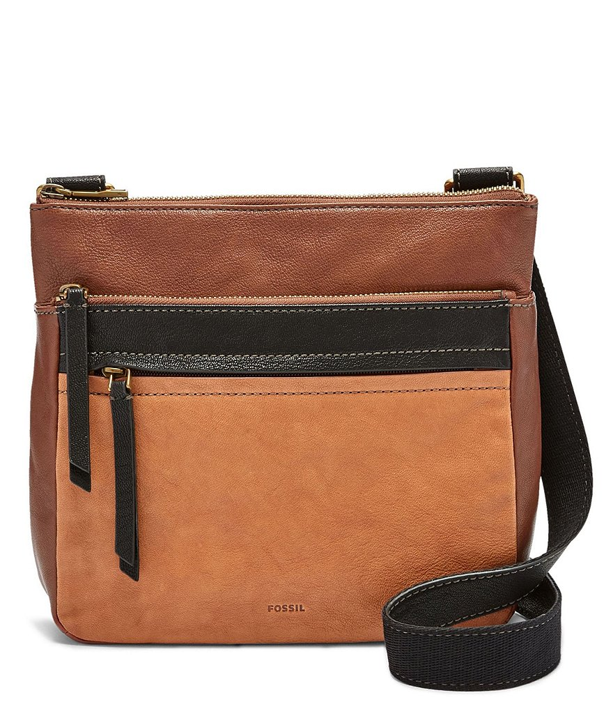 Fossil Corey Color Block Cross-Body Bag