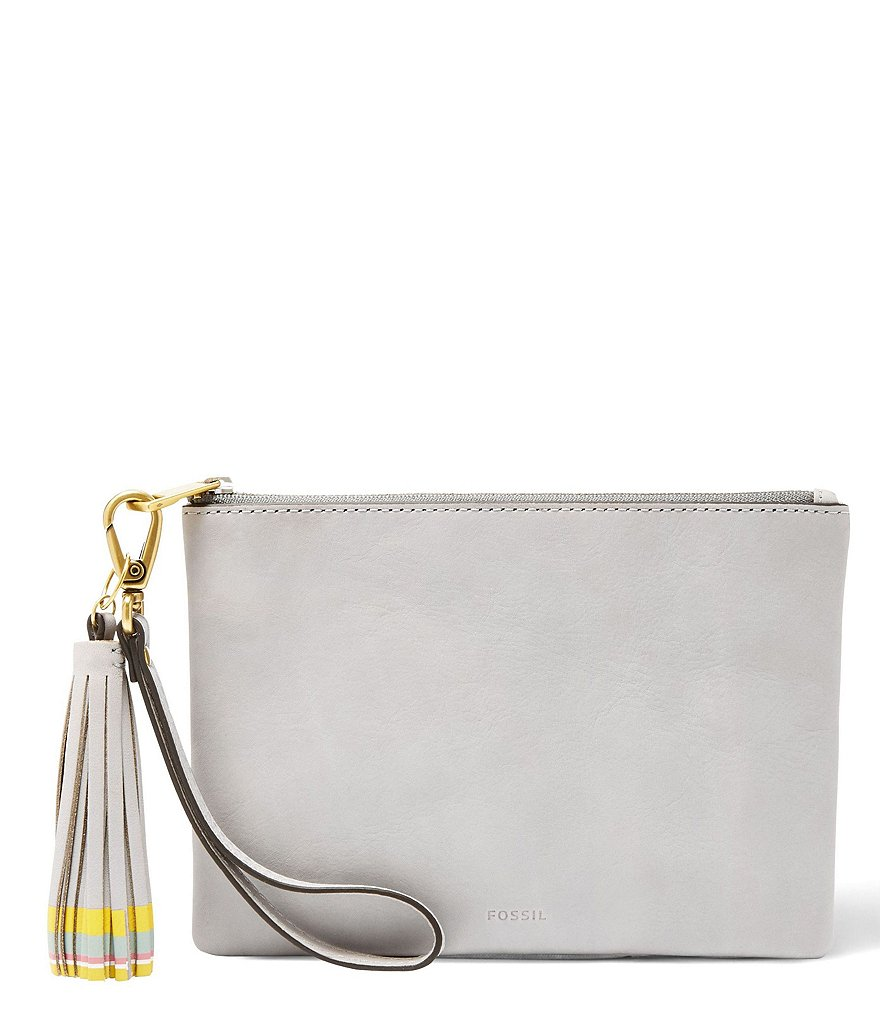 Fossil Tasseled Small Wristlet