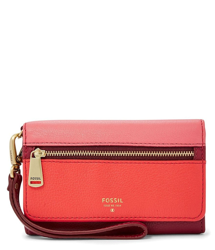 Fossil Preston Colorblocked Multifunction Phone Wallet