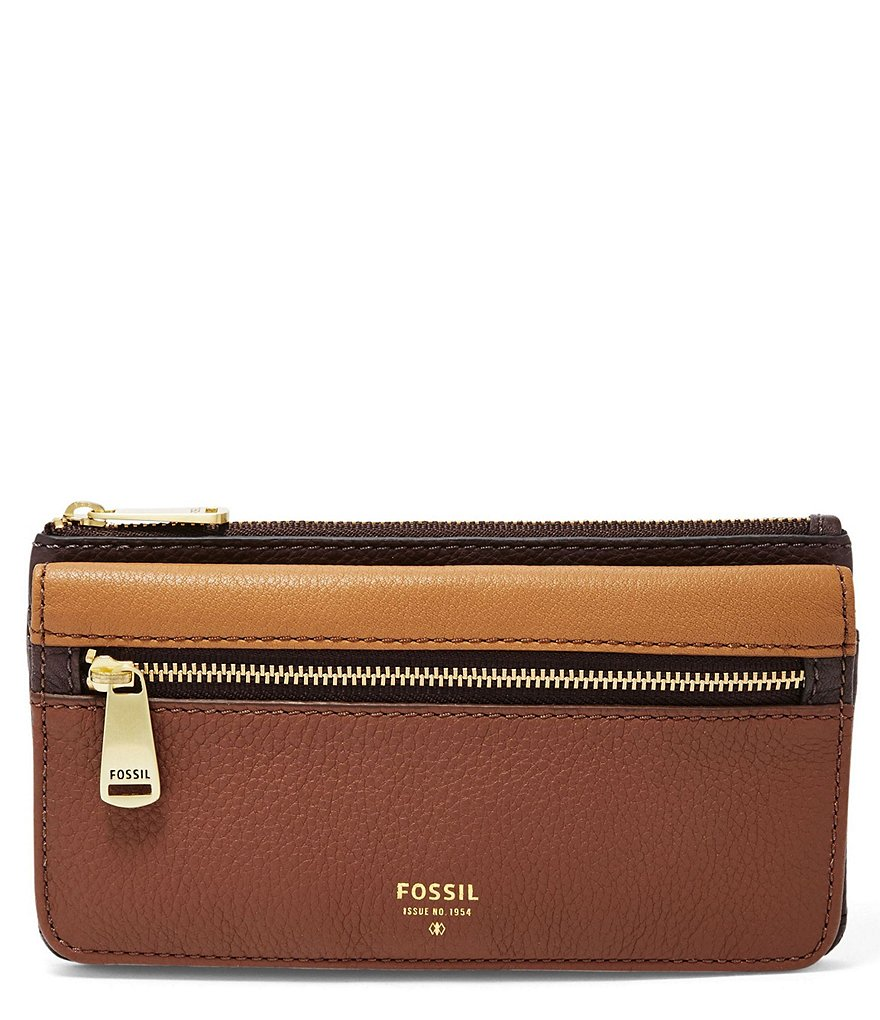 Fossil Preston Colorblocked Flap Clutch