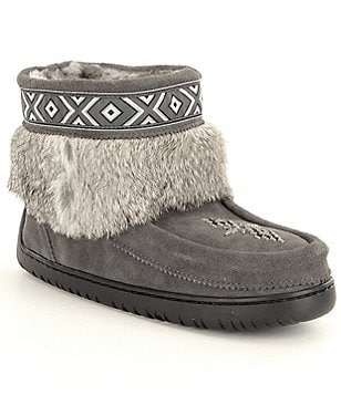 Manitobah Mukluks Keewatin With Fur-Trim Boots