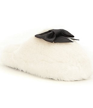 kate spade new york Faux Fur Bali Slippers