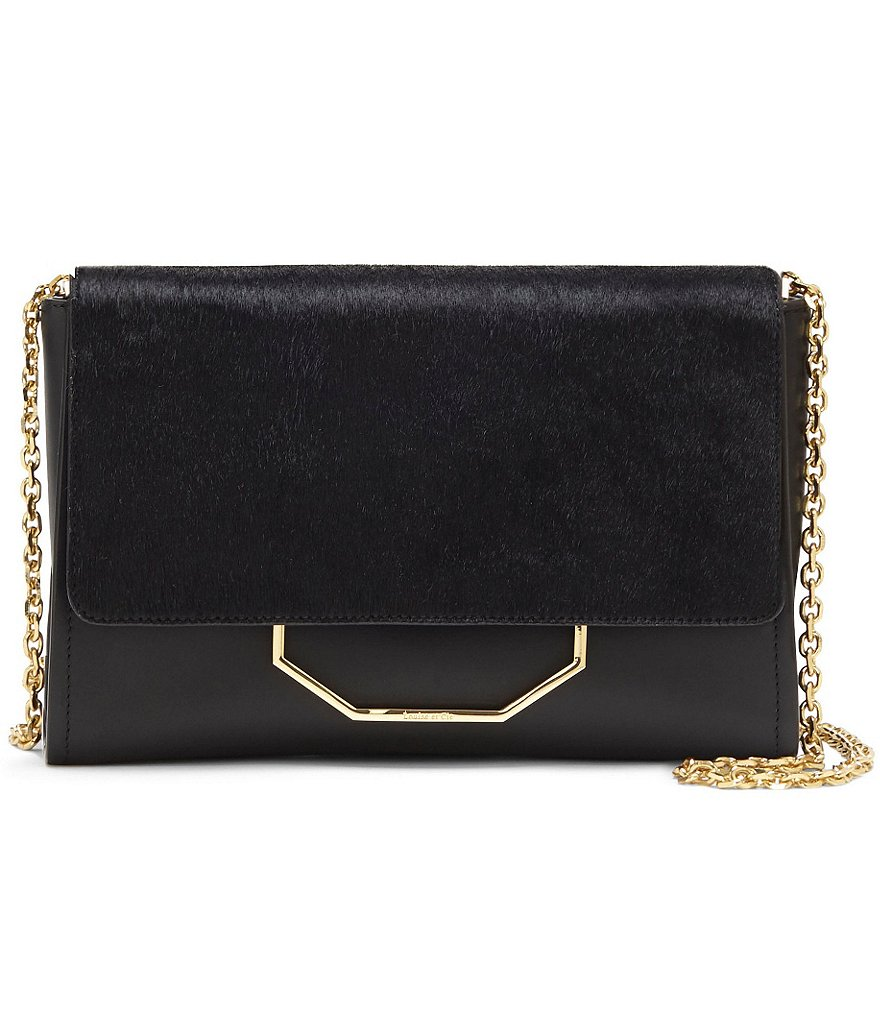 Louise et Cie Towa Haircalf Clutch