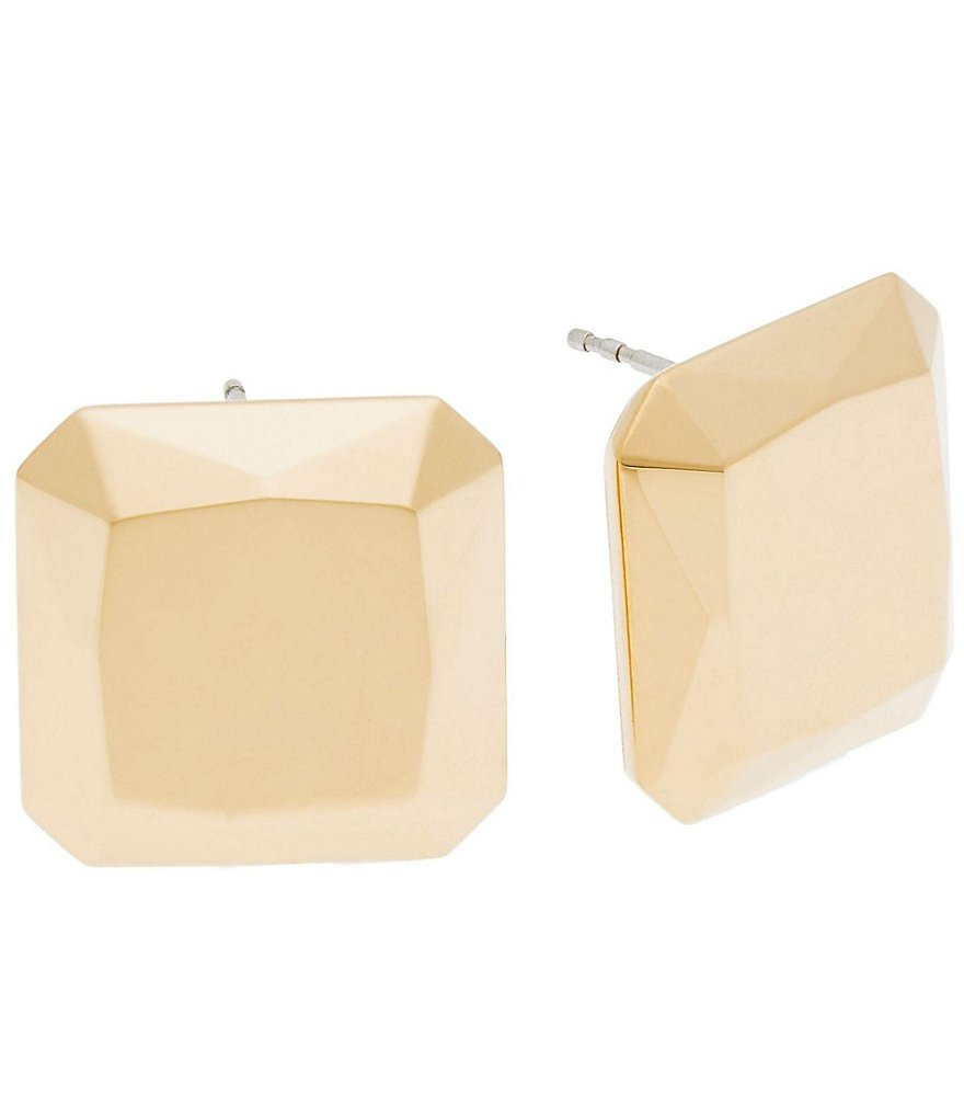 Michael Kors Cushion Cut Stud Earrings