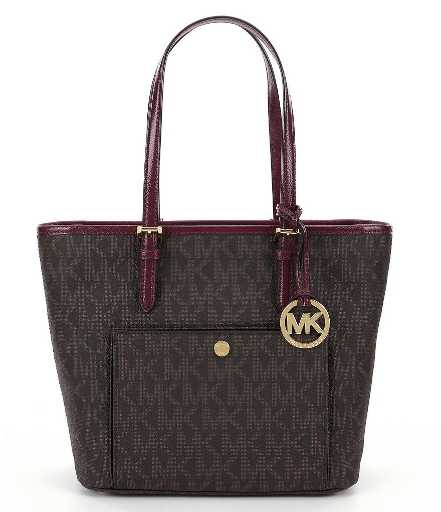 MICHAEL Michael Kors Jet Set Medium Snap-Pocket Tote