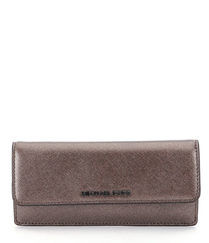 MICHAEL Michael Kors Jet Set Metallic Flat Wallet