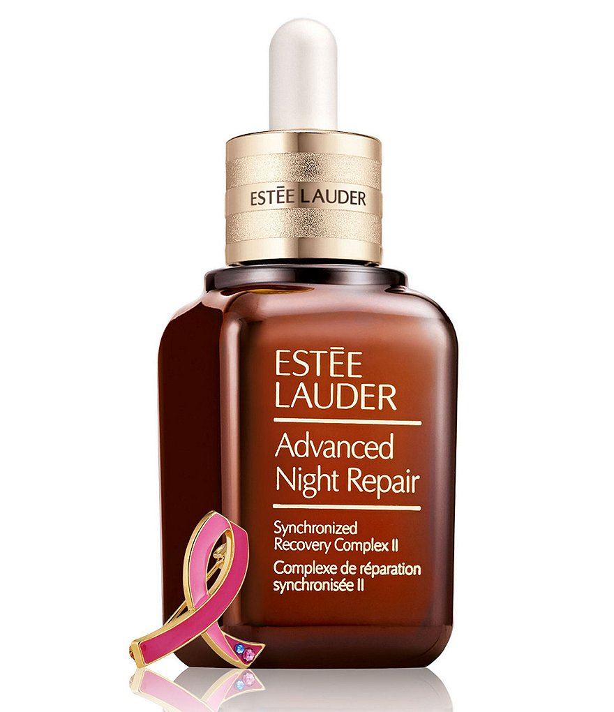 Estee Lauder Advanced Night Repair with Breast Cancer Awareness Pin