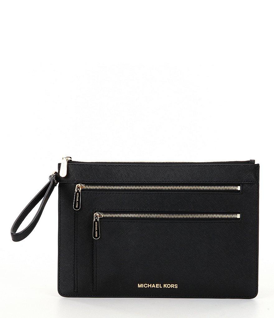 MICHAEL Michael Kors Jet Set XL Triple-Zip Clutch