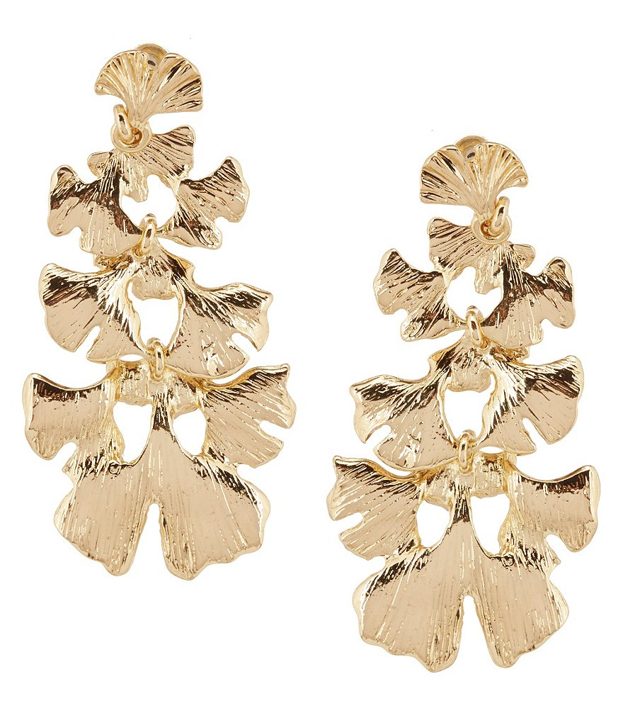 Anna & Ava Kate Fan Chandelier Statement Earrings